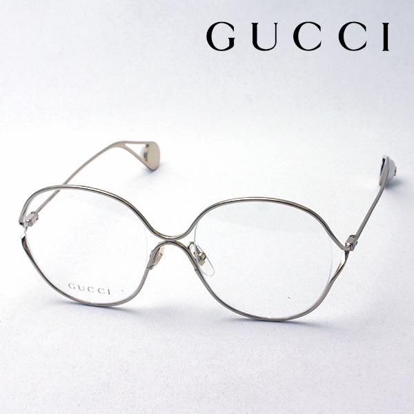 NewModel 4月7日(日)23時59分終了 ほぼ全品ポイント20倍 【グッチ メガネ 正規販売店】 GUCCI アレッサンドロ・ミケーレデザイン GG0254O 001 伊達メガネ 度付き 眼鏡 Made In Italy バタフライ