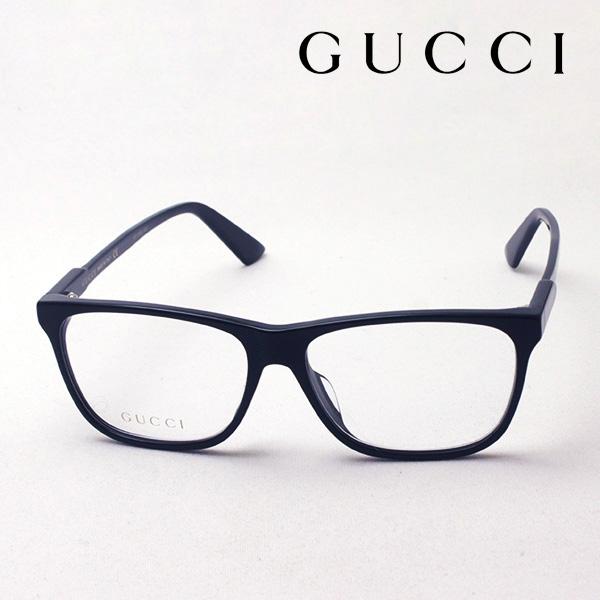 NewModel 4月5日(金)23時59分終了 ほぼ全品ポイント20倍+5倍+2倍 【グッチ メガネ 正規販売店】 GUCCI アレッサンドロ・ミケーレデザイン GG0492OA 001 伊達メガネ 度付き 眼鏡 Made In Italy スクエア