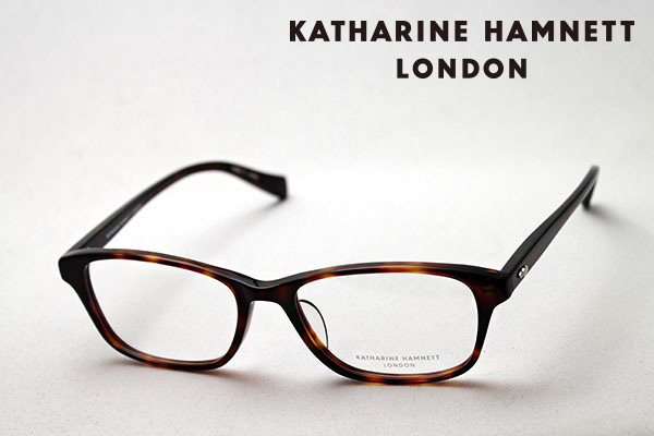 4月5日(金)23時59分終了 ほぼ全品ポイント20倍+5倍+2倍 【KATHARINE HAMNETT】 KH9510 2 キャサリンハムネット メガネ 伊達メガネ 度付き ブルーライト カット 眼鏡 ブラウン系 ウェリントン おしゃれ オフィス ウェリントン
