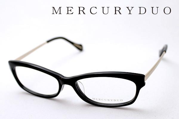 4月5日(金)23時59分終了 ほぼ全品ポイント20倍+5倍+2倍 【MERCURYDUO】 マーキュリーデュオ メガネ MDF-8001-1 伊達メガネ 度付き ブルーライト カット 眼鏡 シェイプ