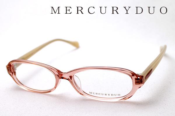 4月5日(金)23時59分終了 ほぼ全品ポイント20倍+5倍+2倍 【MERCURYDUO】 マーキュリーデュオ メガネ MDF-8002-3 伊達メガネ 度付き ブルーライト カット 眼鏡 シェイプ