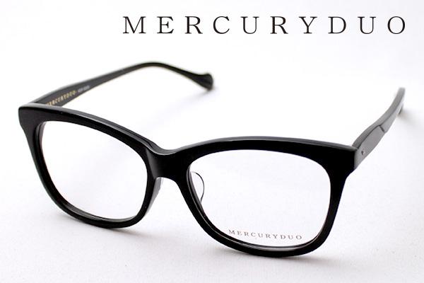 4月5日(金)23時59分終了 ほぼ全品ポイント20倍+5倍+2倍 【MERCURYDUO】 マーキュリーデュオ メガネ MDF-8005-1 伊達メガネ 度付き ブルーライト カット 眼鏡 ウェリントン