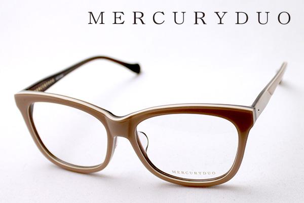 4月5日(金)23時59分終了 ほぼ全品ポイント20倍+5倍+2倍 【MERCURYDUO】 マーキュリーデュオ メガネ MDF-8005-3 伊達メガネ 度付き ブルーライト カット 眼鏡 ウェリントン