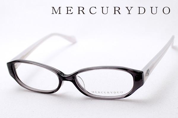4月5日(金)23時59分終了 ほぼ全品ポイント20倍+5倍+2倍 【MERCURYDUO】 マーキュリーデュオ メガネ MDF-8006-4 伊達メガネ 度付き ブルーライト カット 眼鏡 シェイプ