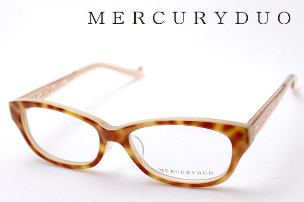 4月5日(金)23時59分終了 ほぼ全品ポイント20倍+5倍+2倍 【MERCURYDUO】 マーキュリーデュオ メガネ MDF-8008-2 伊達メガネ 度付き ブルーライト カット 眼鏡 シェイプ