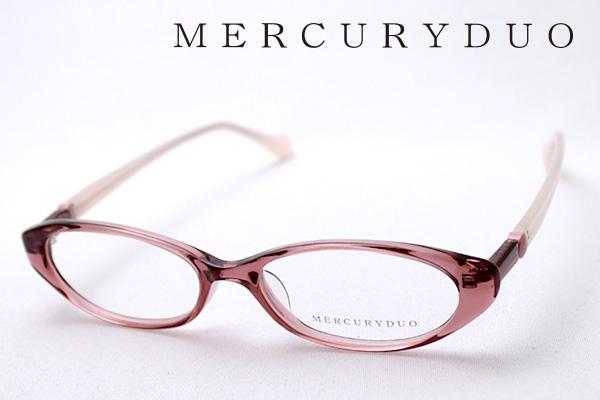 4月5日(金)23時59分終了 ほぼ全品ポイント20倍+5倍+2倍 【MERCURYDUO】 マーキュリーデュオ メガネ MDF-8009-3 伊達メガネ 度付き ブルーライト カット 眼鏡 シェイプ