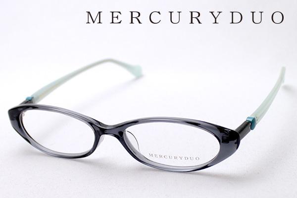 4月5日(金)23時59分終了 ほぼ全品ポイント20倍+5倍+2倍 【MERCURYDUO】 マーキュリーデュオ メガネ MDF-8009-4 伊達メガネ 度付き ブルーライト カット 眼鏡 シェイプ