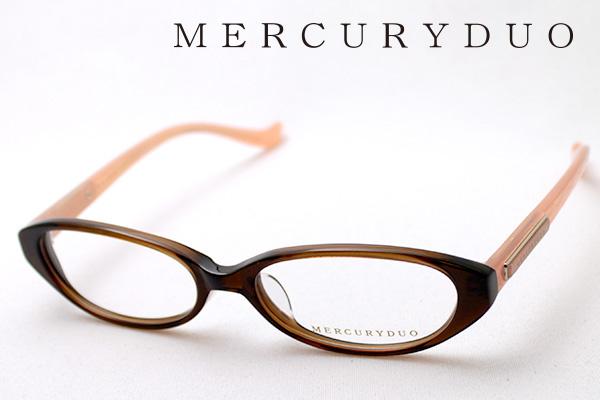 4月5日(金)23時59分終了 ほぼ全品ポイント20倍+5倍+2倍 【MERCURYDUO】 マーキュリーデュオ メガネ MDF-8010-2 伊達メガネ 度付き ブルーライト カット 眼鏡 シェイプ