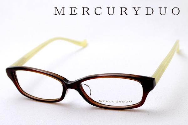 4月5日(金)23時59分終了 ほぼ全品ポイント20倍+5倍+2倍 【MERCURYDUO】 マーキュリーデュオ メガネ MDF-8011-2 伊達メガネ 度付き ブルーライト カット 眼鏡 シェイプ