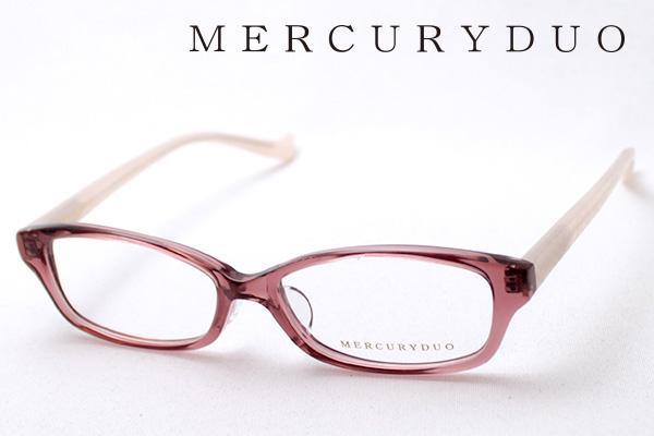 4月5日(金)23時59分終了 ほぼ全品ポイント20倍+5倍+2倍 【MERCURYDUO】 マーキュリーデュオ メガネ MDF-8011-3 伊達メガネ 度付き ブルーライト カット 眼鏡 シェイプ