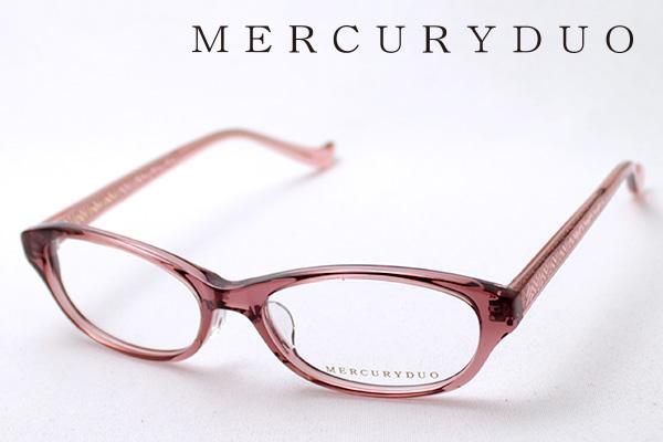 4月5日(金)23時59分終了 ほぼ全品ポイント20倍+5倍+2倍 【MERCURYDUO】 マーキュリーデュオ メガネ MDF-8012-3 伊達メガネ 度付き ブルーライト カット 眼鏡 シェイプ