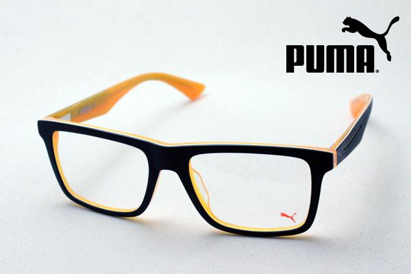 金曜朝9時59分終了 ほぼ全品がポイント15~20倍 【プーマ メガネ 正規販売店】 PUMA PU0052O 001 伊達メガネ 度付き ブルーライト ブルーライトカット 眼鏡 スクエア