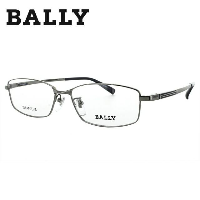 バリー メガネ フレーム 0円レンズ対象 BY3017J 2 56 グレー/ネイビー 調整可能ノーズパッド 伊達メガネ 度付メガネ メンズ 新品 【BALLY】