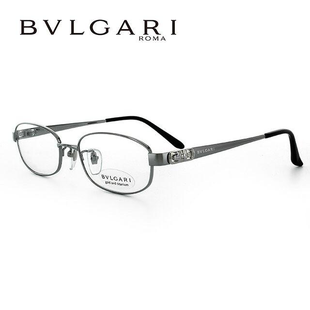 ブルガリ メガネ フレーム 眼鏡 BV2076TK 4017 52サイズ 度付きメガネ 伊達メガネ ブルーライト 遠近両用 老眼鏡 シルバー/ブラック レディース 新品 【BVLGARI】 【正規品】