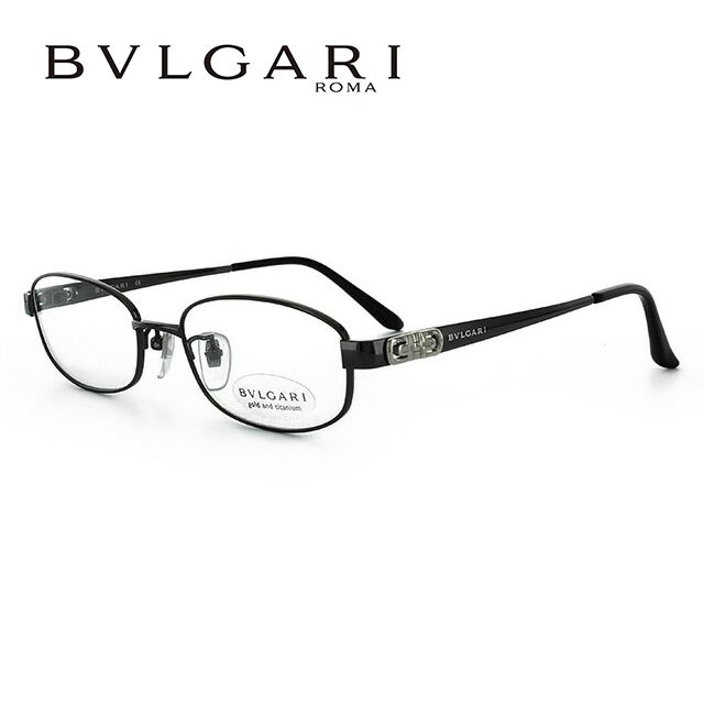 ブルガリ メガネ フレーム 眼鏡 BV2076TK 4018 52サイズ 度付きメガネ 伊達メガネ ブルーライト 遠近両用 老眼鏡 ガンメタル/ブラック レディース 新品 【BVLGARI】 【正規品】