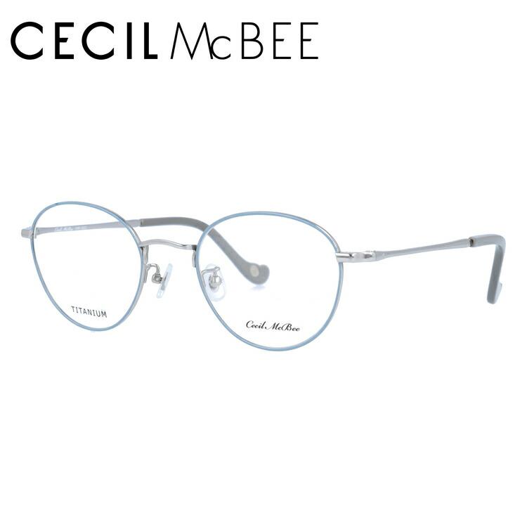 セシルマクビー メガネ フレーム 0円レンズ対象 CMF 3022-3 49サイズ ボストン レディース 伊達メガネ 度付メガネ 新品 【CECIL McBee】