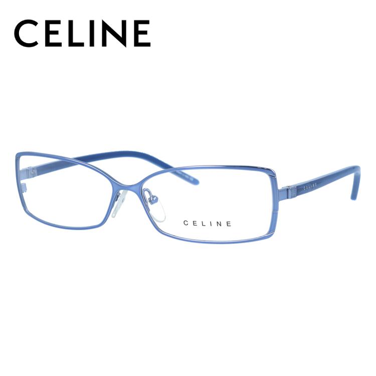 セリーヌ メガネ フレーム 0円レンズ対象 VC1241M 55サイズ 0SD9 レディース スクエア レディース 伊達メガネ 度付メガネ 新品 【CELINE】