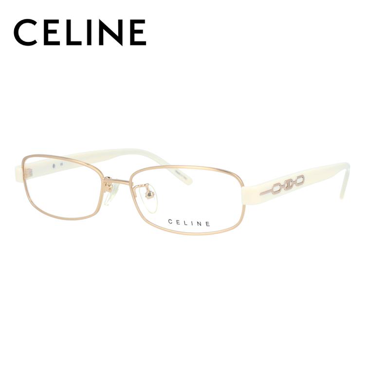 セリーヌ メガネ フレーム 0円レンズ対象 VC1373M 54サイズ 0383 レディース スクエア レディース 伊達メガネ 度付メガネ 新品 【CELINE】