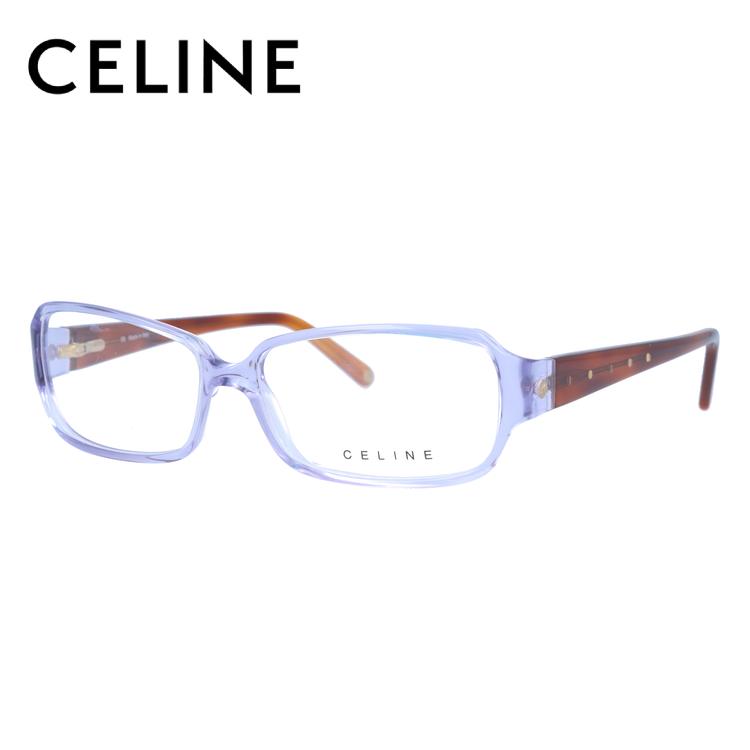 セリーヌ メガネ フレーム 0円レンズ対象 VC1582S 55サイズ 0M24 レディース セル/スクエア/レディース 伊達メガネ 度付メガネ 新品 【CELINE】