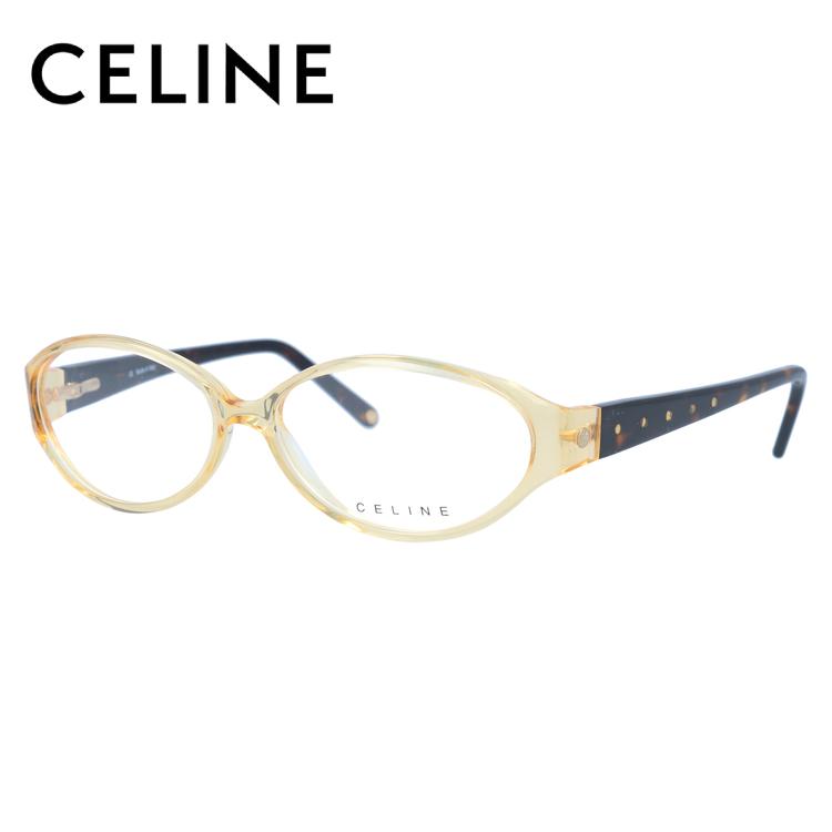 【伊達・度付きレンズ無料】セリーヌ メガネ フレーム 眼鏡 VC1584S 55サイズ 0858 度付きメガネ 伊達メガネ ブルーライト 遠近両用 老眼鏡 レディース ラウンド 新品 【CELINE】