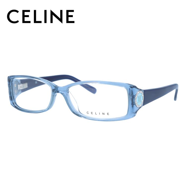 【伊達・度付きレンズ無料】セリーヌ メガネ フレーム 眼鏡 VC1602S 55サイズ 097D 度付きメガネ 伊達メガネ ブルーライト 遠近両用 老眼鏡 レディース スクエア 新品 【CELINE】