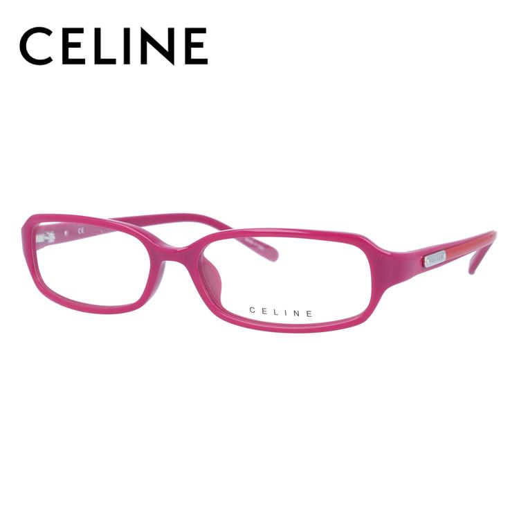 【伊達・度付きレンズ無料】セリーヌ メガネ フレーム 眼鏡 VC1650M 56サイズ 09M3 度付きメガネ 伊達メガネ ブルーライト 遠近両用 老眼鏡 レディース スクエア 新品 【CELINE】