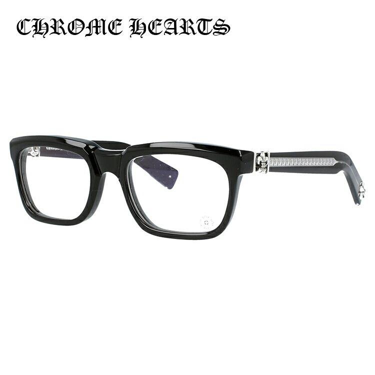 クロムハーツ メガネ フレーム SEE YOU IN TEA BK 53サイズ メンズ レディース ユニセックス レギュラーフィット スクエア 度付きメガネ 伊達メガネ 新品 【CHROME HEARTS】