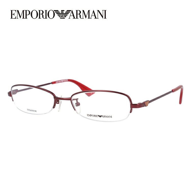 【伊達・度付きレンズ無料】エンポリオアルマーニ メガネ フレーム 眼鏡 EA1132J 37W 52サイズ スクエア 度付きメガネ 伊達メガネ ブルーライト 遠近両用 老眼鏡 メンズ レディース ユニセックス ブランド ロゴ アイコン 【EMPORIO ARMANI】