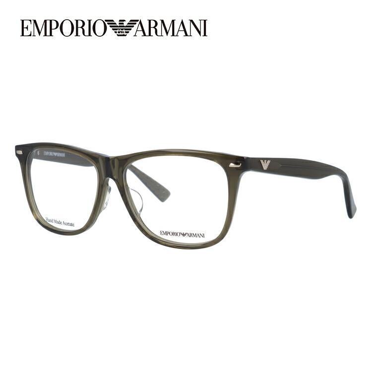 メガネ 度付き 伊達 PCメガネ 老眼鏡 遠近両用 ミラー 調光 カラーレンズ 各種対応。アルマーニの眼鏡を自分仕様にカスタマイズ【ギフトラッピング無料】 エンポリオアルマーニ メガネフレーム EMPORIO ARMANI 度付き 度なし 伊達 だて 眼鏡 メンズ レディース EA1344J X4N 53サイズ セル/ウェリントン/スクエア 【ウェリントン型】 UVカット 紫外線