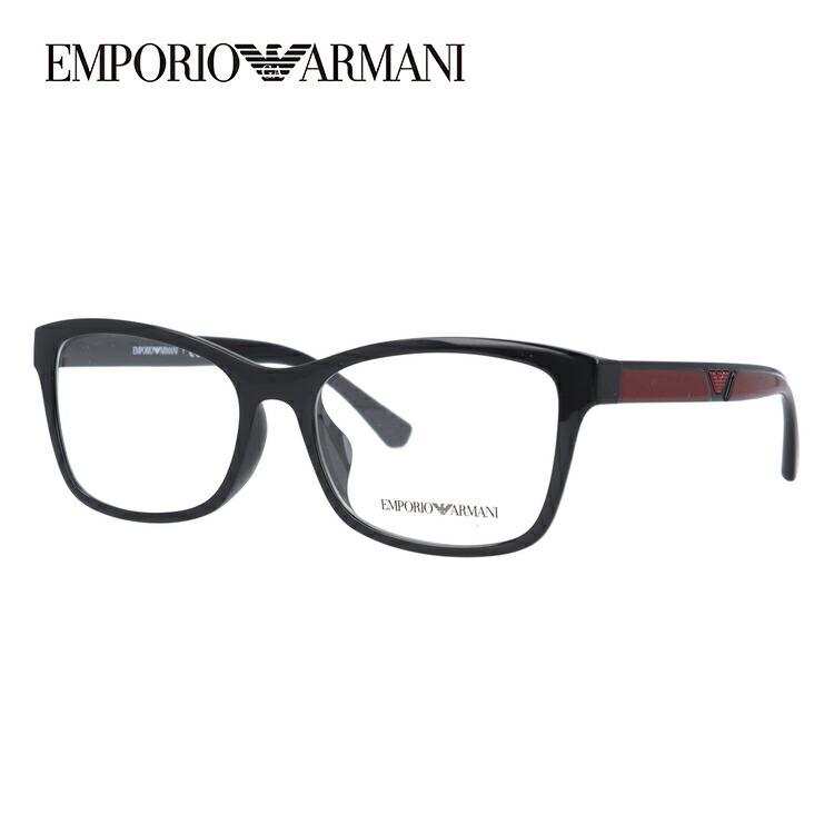 【伊達・度付きレンズ無料】エンポリオアルマーニ メガネ フレーム 眼鏡 EA3128F 5017 54サイズ 度付きメガネ 伊達メガネ ブルーライト 遠近両用 老眼鏡 メンズ レディース ユニセックス アジアンフィット スクエア 新品 【EMPORIO ARMANI】