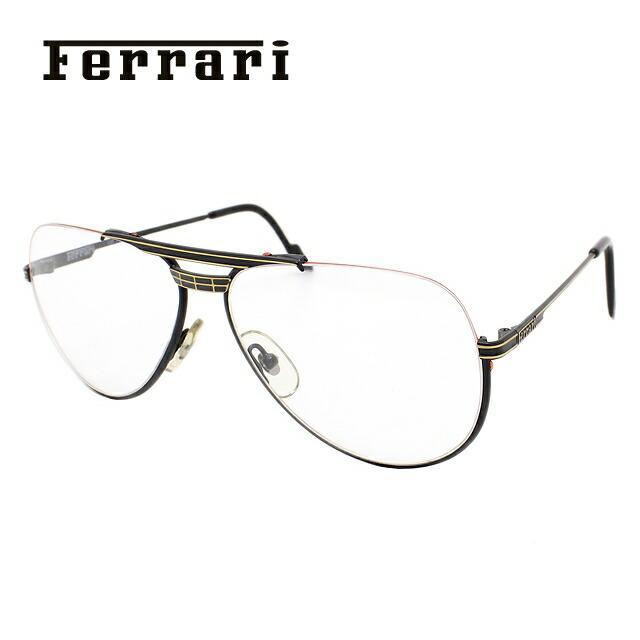 メガネ 度付き 伊達 PCメガネ 老眼鏡 遠近両用 ミラー 調光 カラーレンズ 各種対応。フェラーリの眼鏡を自分仕様にカスタマイズ【ギフトラッピング無料】 Ferrari フェラーリ 伊達メガネ 眼鏡 F3/I 587 58サイズ