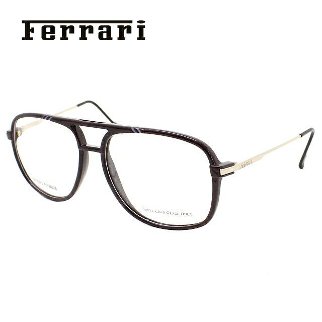 メガネ 度付き 伊達 PCメガネ 老眼鏡 遠近両用 ミラー 調光 カラーレンズ 各種対応。フェラーリの眼鏡を自分仕様にカスタマイズ【ギフトラッピング無料】 メガネ 度付き 度なし 伊達メガネ 眼鏡 Ferrari フェラーリ F52 67Z 55サイズ UVカット 紫外線