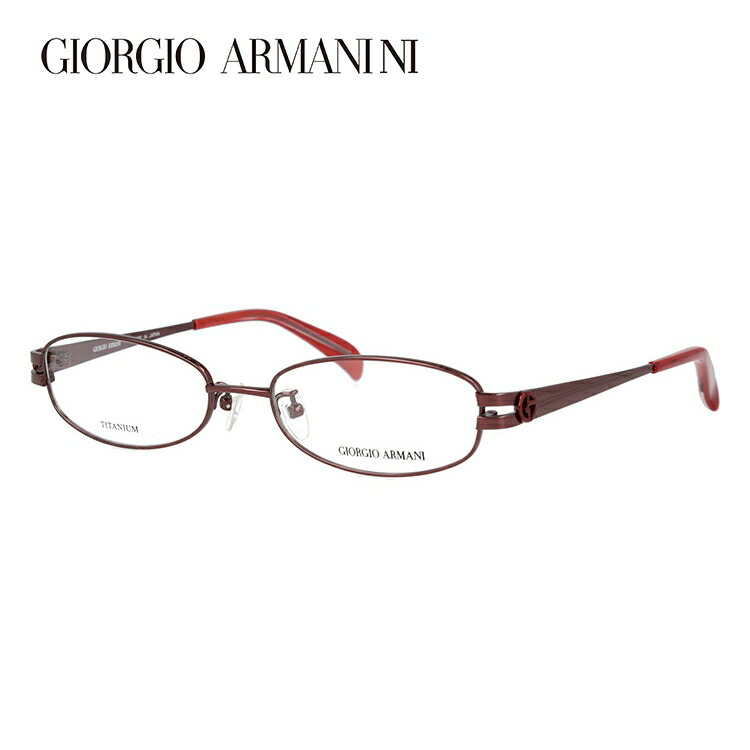 メガネ 度付き 伊達 PCメガネ 老眼鏡 遠近両用 ミラー 調光 カラーレンズ 各種対応。アルマーニの眼鏡を自分仕様にカスタマイズ【ギフトラッピング無料】 メガネ 度付き 度なし 伊達メガネ 眼鏡 GIORGIO ARMANI ジョルジオアルマーニ GA2672J NB5 52サイズ チタン スクエア 【スクエア型】 UVカット 紫外線