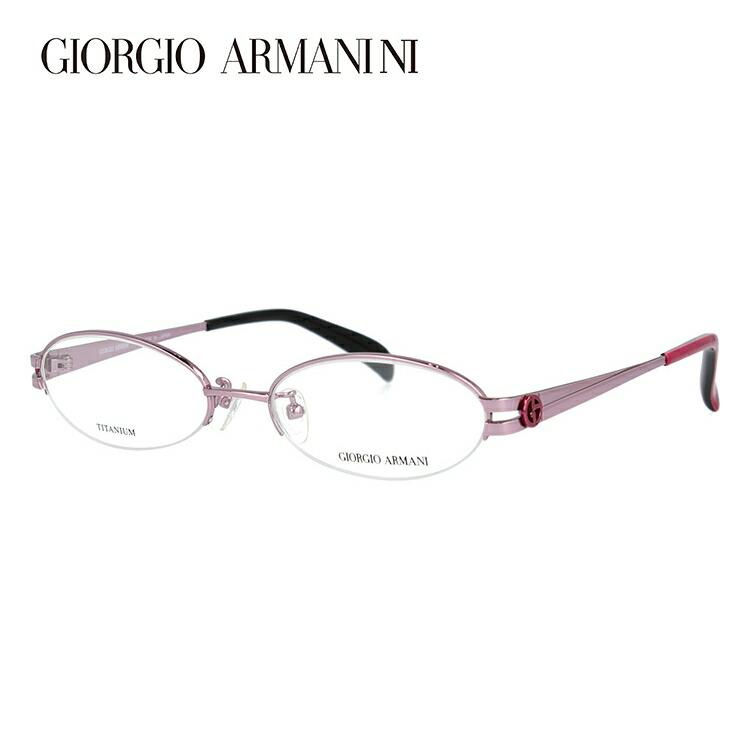メガネ 度付き 伊達 PCメガネ 老眼鏡 遠近両用 ミラー 調光 カラーレンズ 各種対応。アルマーニの眼鏡を自分仕様にカスタマイズ【ギフトラッピング無料】 GIORGIO ARMANI ジョルジオ アルマーニ 伊達メガネ 眼鏡 GA2673J B3E 51サイズ チタン ハーフリム オーバル