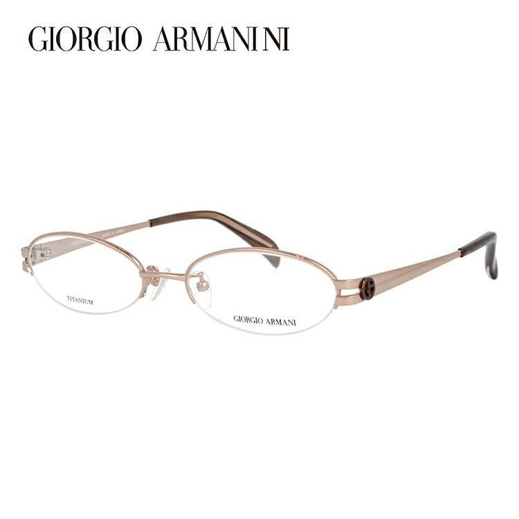 メガネ 度付き 伊達 PCメガネ 老眼鏡 遠近両用 ミラー 調光 カラーレンズ 各種対応。アルマーニの眼鏡を自分仕様にカスタマイズ【ギフトラッピング無料】 GIORGIO ARMANI ジョルジオ アルマーニ 伊達メガネ 眼鏡 GA2673J C3E 51サイズ チタン ハーフリム オーバル