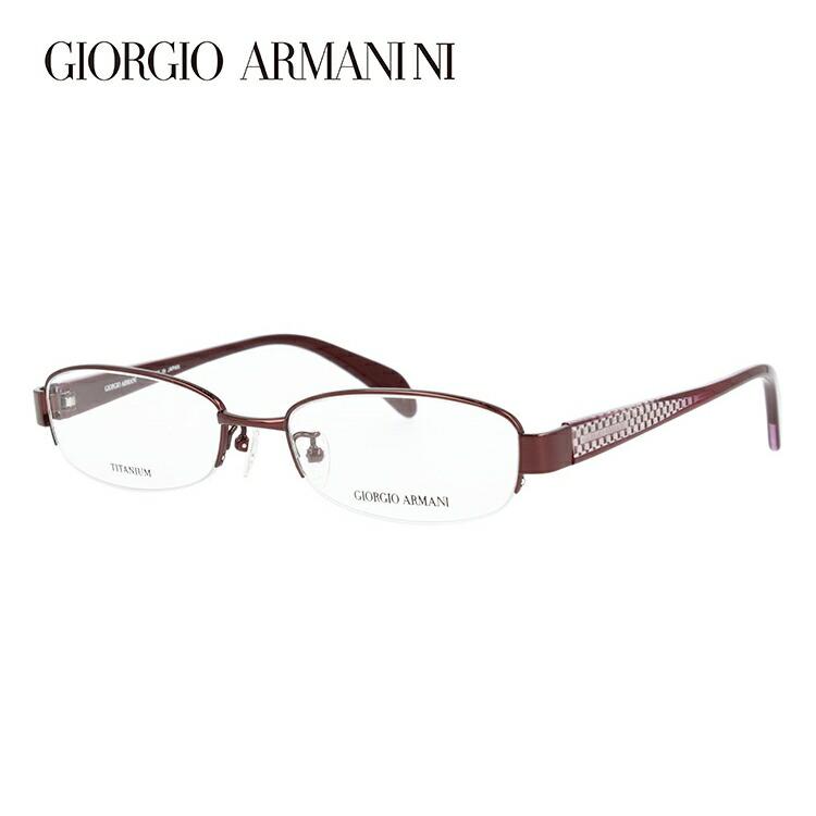 メガネ 度付き 伊達 PCメガネ 老眼鏡 遠近両用 ミラー 調光 カラーレンズ 各種対応。アルマーニの眼鏡を自分仕様にカスタマイズ【ギフトラッピング無料】 GIORGIO ARMANI ジョルジオ アルマーニ 伊達メガネ 眼鏡 GA2680J NB5 51サイズ チタン ハーフリム スクエア 【スクエア型】