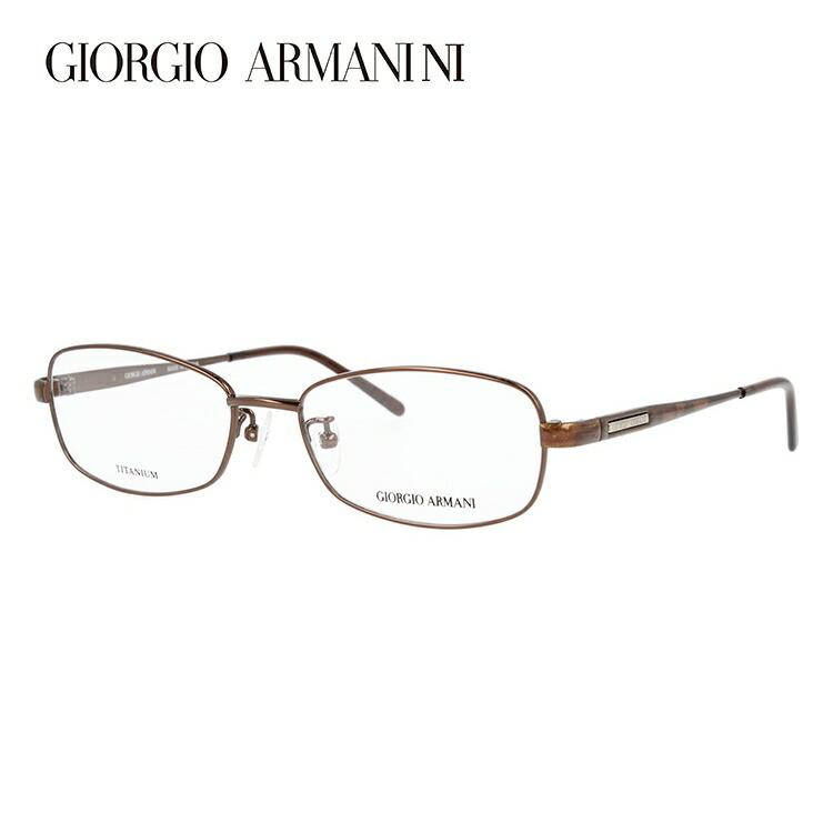 ジョルジオアルマーニ メガネ フレーム 0円レンズ対象 GA2695J 6E4 52サイズ チタン/スクエア/メンズ 伊達メガネ 度付メガネ 新品 【GIORGIO ARMANI】