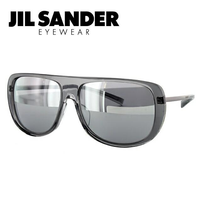 JIL SANDER サングラス 度付き対応 J3006-D 59サイズ レギュラーフィット ミラーレンズ レディース メンズ【ジルサンダー】