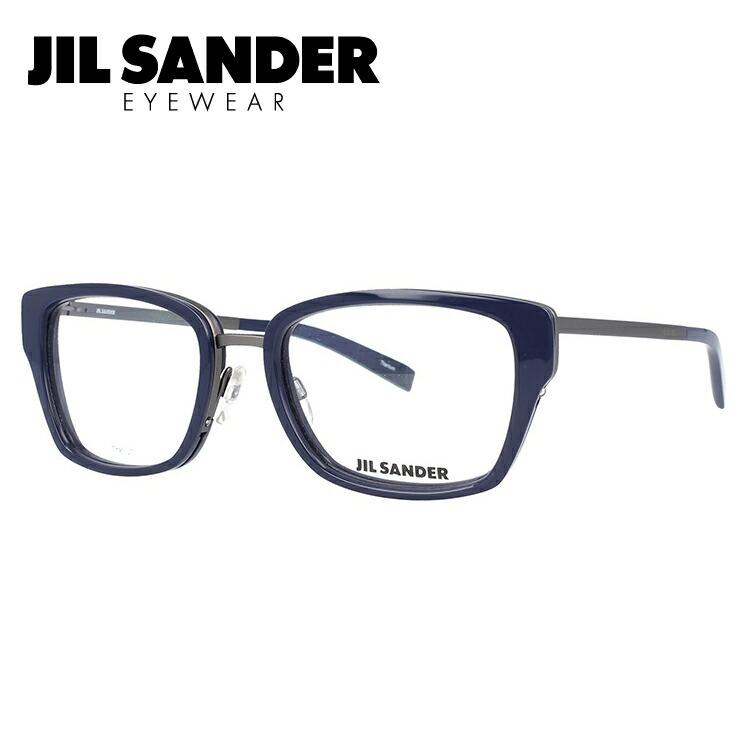 ジルサンダー メガネ フレーム 0円レンズ対象 J2004-C 54サイズ 調整可能ノーズパッド レディース 【JIL SANDER】