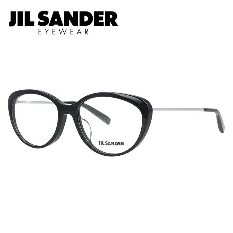 ジルサンダー メガネ フレーム 0円レンズ対象 J4001-K 55サイズ アジアンフィット レディース 【JIL SANDER】