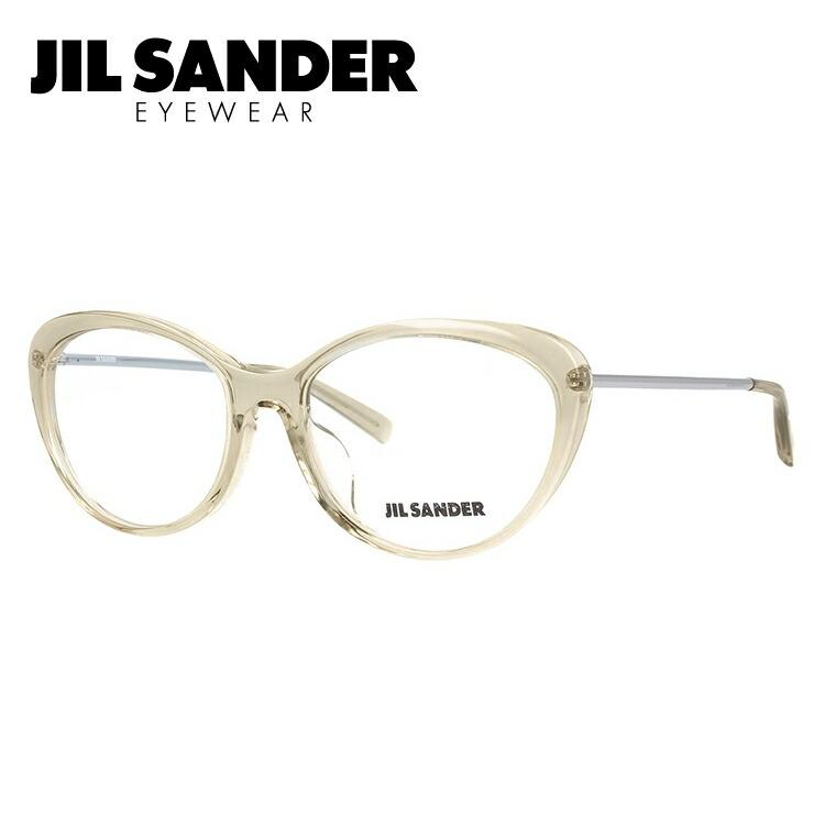ジルサンダー メガネ フレーム 0円レンズ対象 J4001-L 55サイズ アジアンフィット レディース 【JIL SANDER】