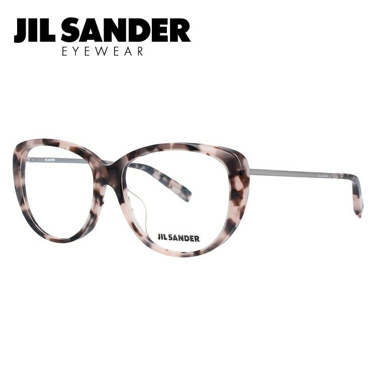 ジルサンダー メガネ フレーム 0円レンズ対象 J4003-L 56サイズ アジアンフィット レディース 【JIL SANDER】