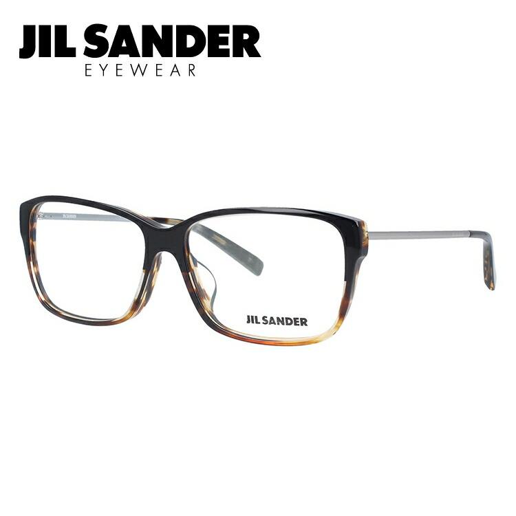 ジルサンダー メガネ フレーム 0円レンズ対象 J4004-M 57サイズ アジアンフィット メンズ レディース 【JIL SANDER】