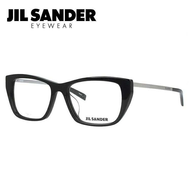 ジルサンダー メガネ フレーム 0円レンズ対象 J4005-K 52サイズ アジアンフィット レディース 【JIL SANDER】