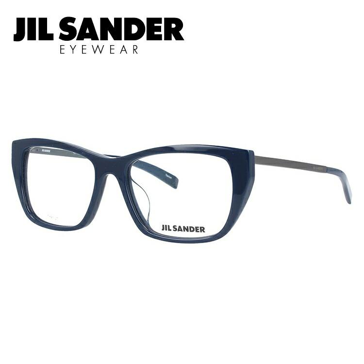 ジルサンダー メガネ フレーム 0円レンズ対象 J4005-L 52サイズ アジアンフィット レディース 【JIL SANDER】