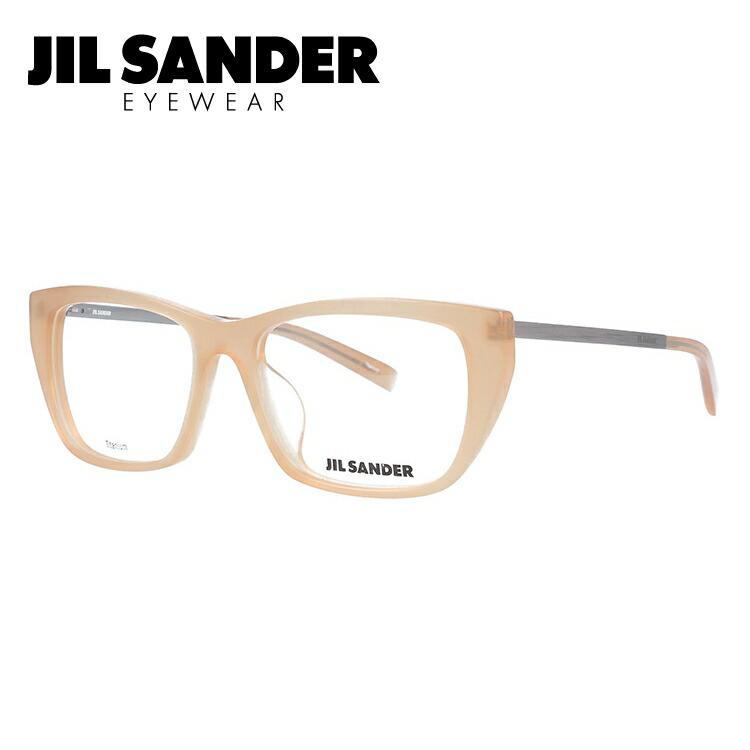 ジルサンダー メガネ フレーム 0円レンズ対象 J4005-N 52サイズ アジアンフィット レディース 【JIL SANDER】