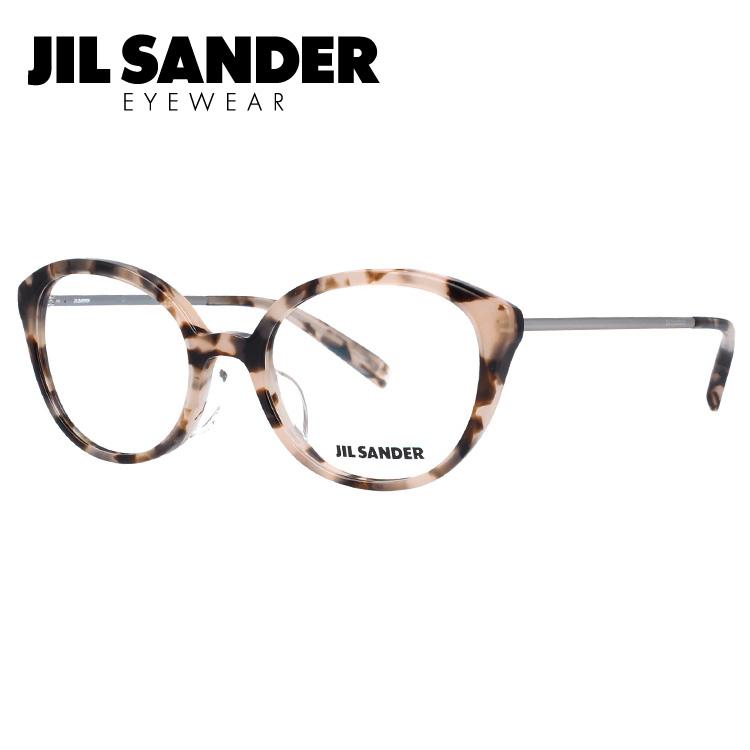 ジルサンダー メガネ フレーム 0円レンズ対象 J4007-C 52サイズ レギュラーフィット レディース 【JIL SANDER】