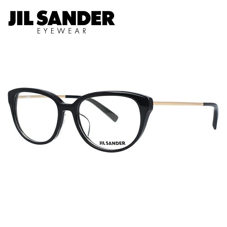 ジルサンダー メガネ フレーム 0円レンズ対象 J4008-A 52サイズ レギュラーフィット レディース 【JIL SANDER】