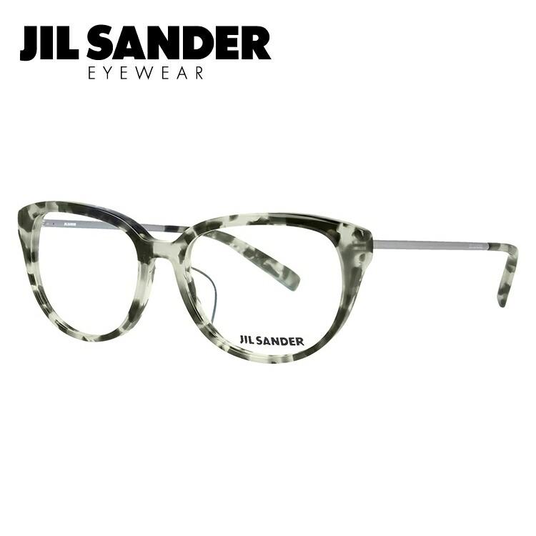 ジルサンダー メガネ フレーム 0円レンズ対象 J4008-C 52サイズ レギュラーフィット レディース 【JIL SANDER】