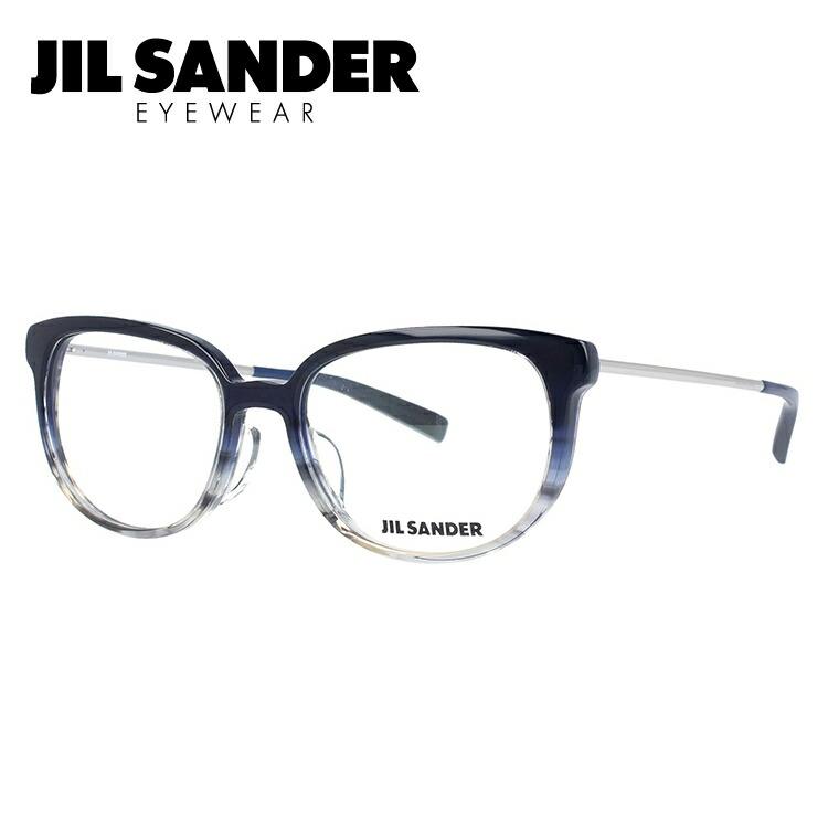 ジルサンダー メガネ フレーム 0円レンズ対象 J4009-C 52サイズ レギュラーフィット レディース 【JIL SANDER】